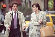 "HUGH GRANT and SANDRA BULLOCK star in Castle Rock Entertainment's romantic comedy ""Two Weeks Notice,"" distributed by Warner Bros. Pictures."