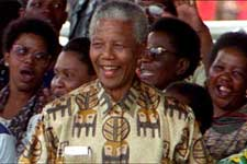 Nelson Mandela in Artisan's Amandla! A Revolution in Four-Part Harmony - 2003