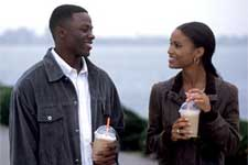 Derek Luke and Joy Bryant in Fox Searchlight's Antwone Fisher - 2002