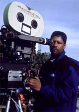 Director Denzel Washington on the set of Fox Searchlight's Antwone Fisher - 2002