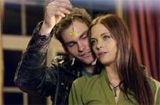 Seann William Scott and Jaime King in MGM's Bulletproof Monk - 2003