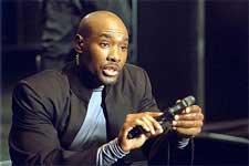 Morris Chestnut in Columbia's Half Past Dead - 2002