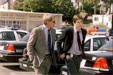 Harrison Ford and Josh Hartnett in Columbia's Hollywood Homicide - 2003