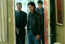 Harrison Ford, Lou Diamond Phillips and Josh Hartnett in Columbia's Hollywood Homicide - 2003