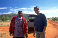 "(L-r) ANTHONY ANDERSON and JERRY O'CONNELL in Castle Rock Entertainment's family action adventure comedy, ""Kangaroo Jack,"" distributed by Warner Bros. Pictures."