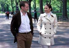 Ralph Fiennes and Jennifer Lopez in Columbia's Maid In Manhattan - 2002