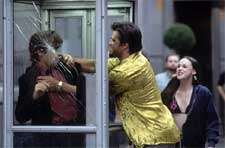 Colin Farrell, John Enos III and Arian Ash in 20th Century Fox's Phone Booth - 2003