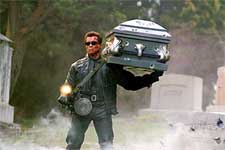 Arnold Schwarzenegger in Warner Brothers' Terminator 3: Rise of the Machines - 2003