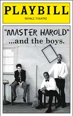 Master harold and the boys thesis
